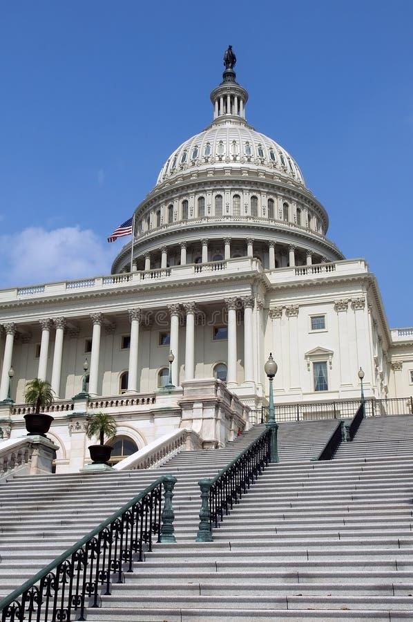 对国会大厦的台阶 图库摄影