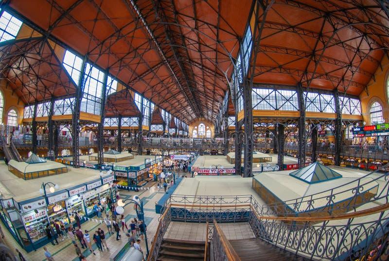 对城市的看法从历史建筑在布达佩斯 免版税库存照片