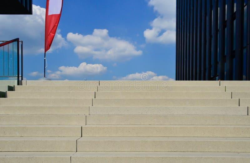 对天堂的台阶 免版税图库摄影