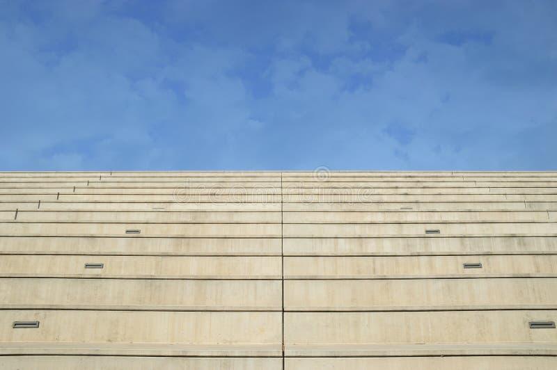 对天堂的石台阶 个人进展概念 图库摄影