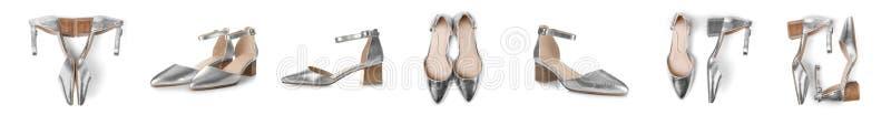 对女性鞋子 图库摄影