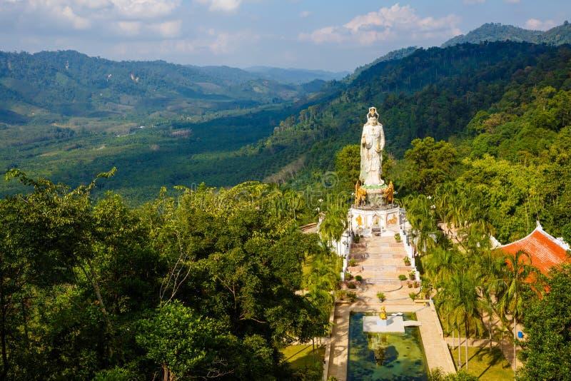 对寺庙Wat轰隆Riang的游览 库存照片