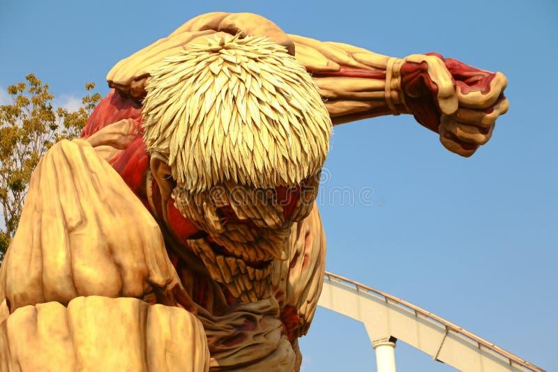 对巨人的攻击 免版税库存图片