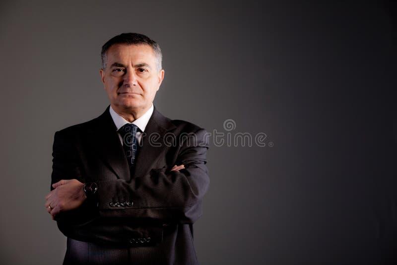 对巨大成功的老人承诺 免版税图库摄影