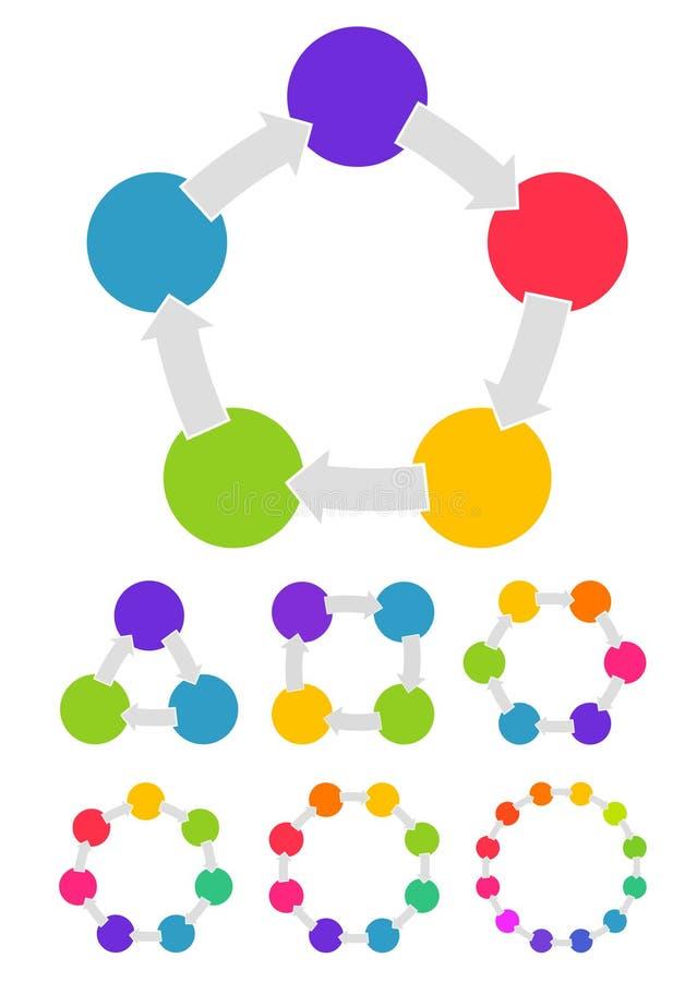 对您的企业介绍的模板 向量例证