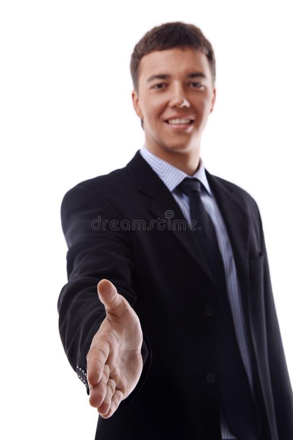 对您的生意人现有量提供的震动 免版税库存照片