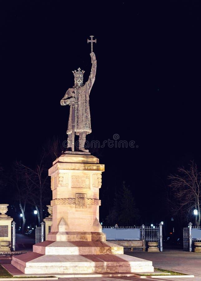 对斯蒂芬的纪念碑伟大 免版税库存照片