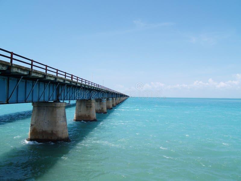 对无处的桥梁 免版税库存图片