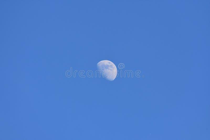 对月发射 图库摄影