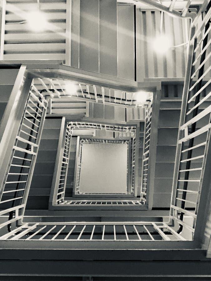 对未来的楼梯 库存照片