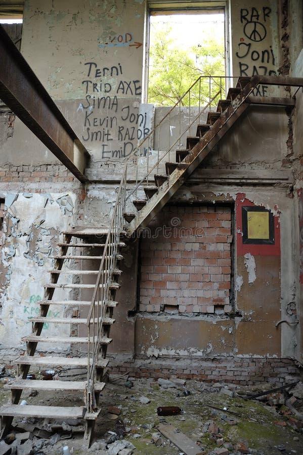 对未知数的楼梯 库存图片