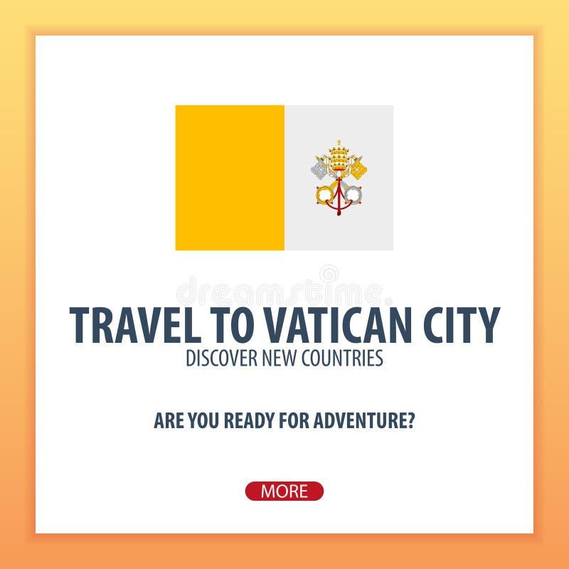 对梵蒂冈的旅行 发现并且探索新的国家 冒险旅行 皇族释放例证