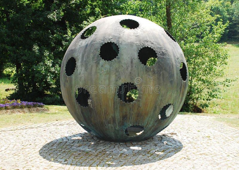 对气球驾驶者的纪念碑 库存照片