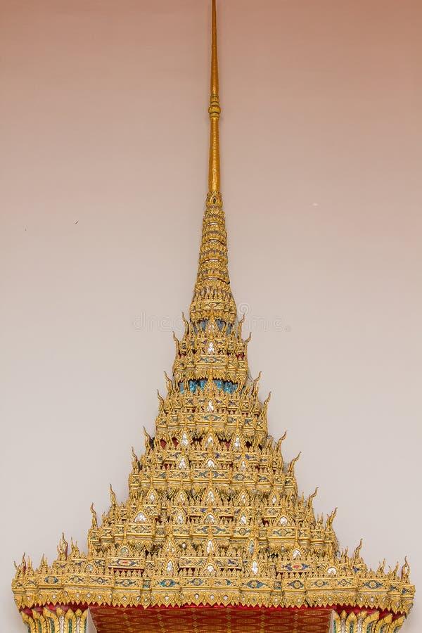 对泰国是独特的样式 免版税库存照片