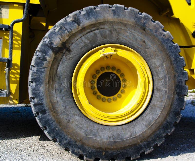 对的接近的轮胎 免版税库存照片