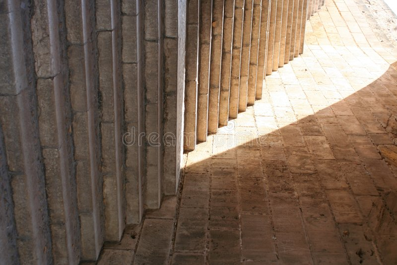对的轻的楼梯 图库摄影