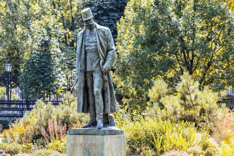 对皇帝弗朗兹约瑟夫的纪念碑我 维也纳 奥地利 免版税库存照片