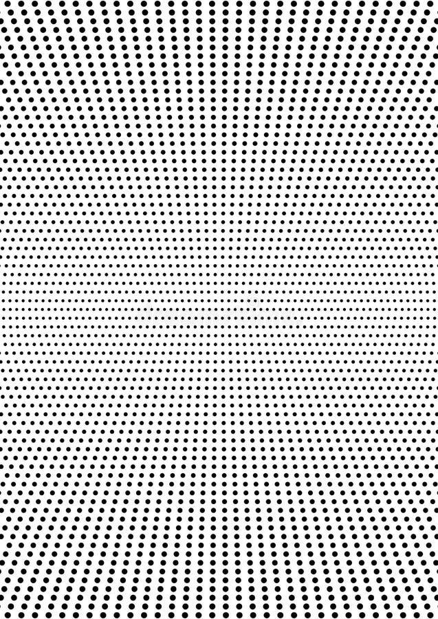 对称中间影调加点背景长方形A4大小传染媒介例证 向量例证