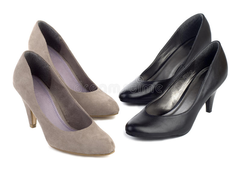 对穿上鞋子二 免版税库存图片