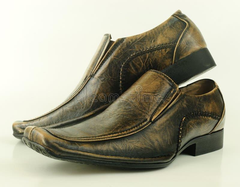 对穿上鞋子时髦 免版税库存照片