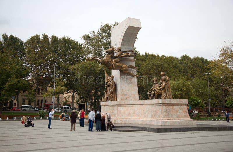 对苏丹Mehmed的纪念碑II 免版税库存照片