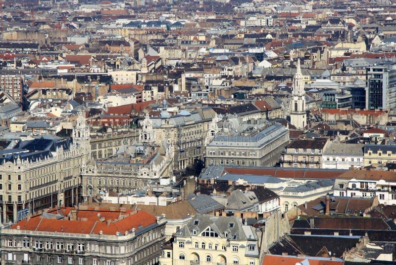 对虫,布达佩斯,匈牙利的看法 库存图片