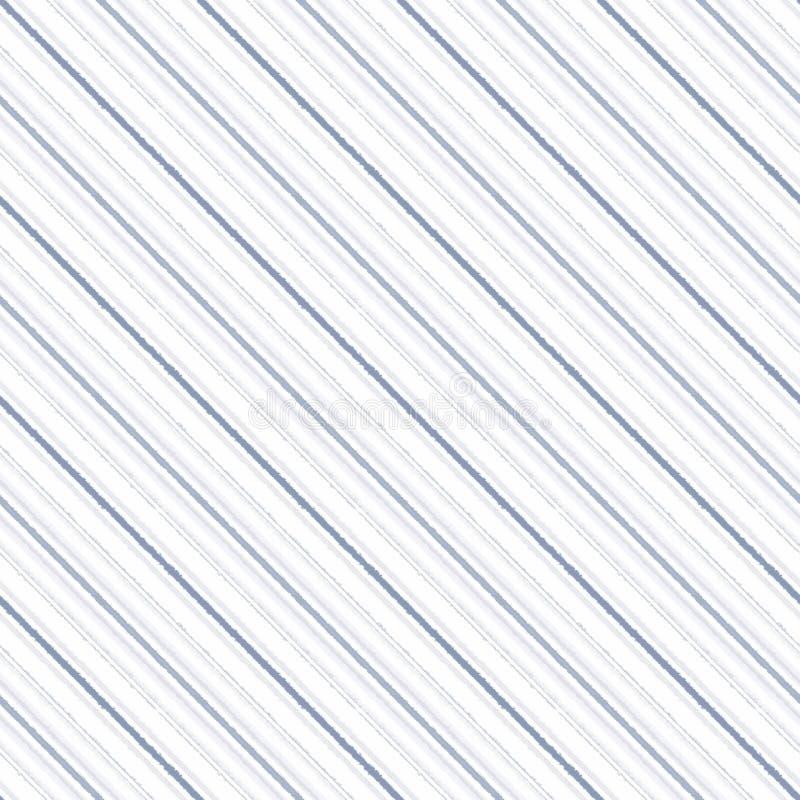 对角条纹线无缝的样式,抽象 库存例证