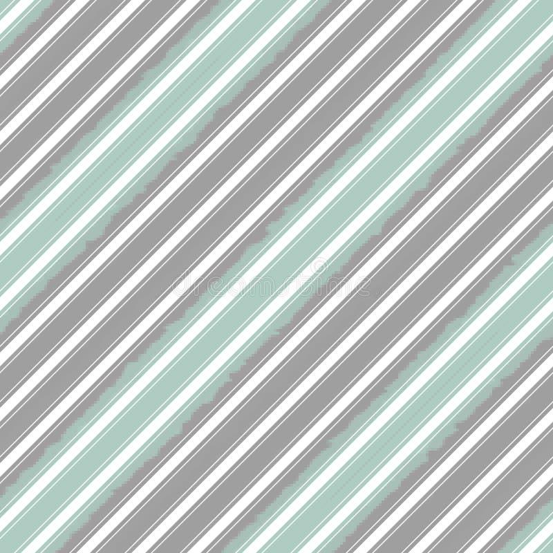 对角条纹线无缝的样式,现代背景 向量例证