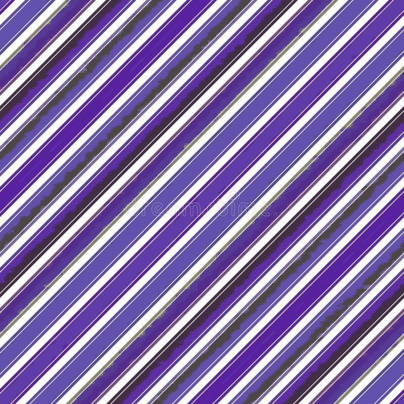对角条纹线无缝的样式,背景名片 皇族释放例证