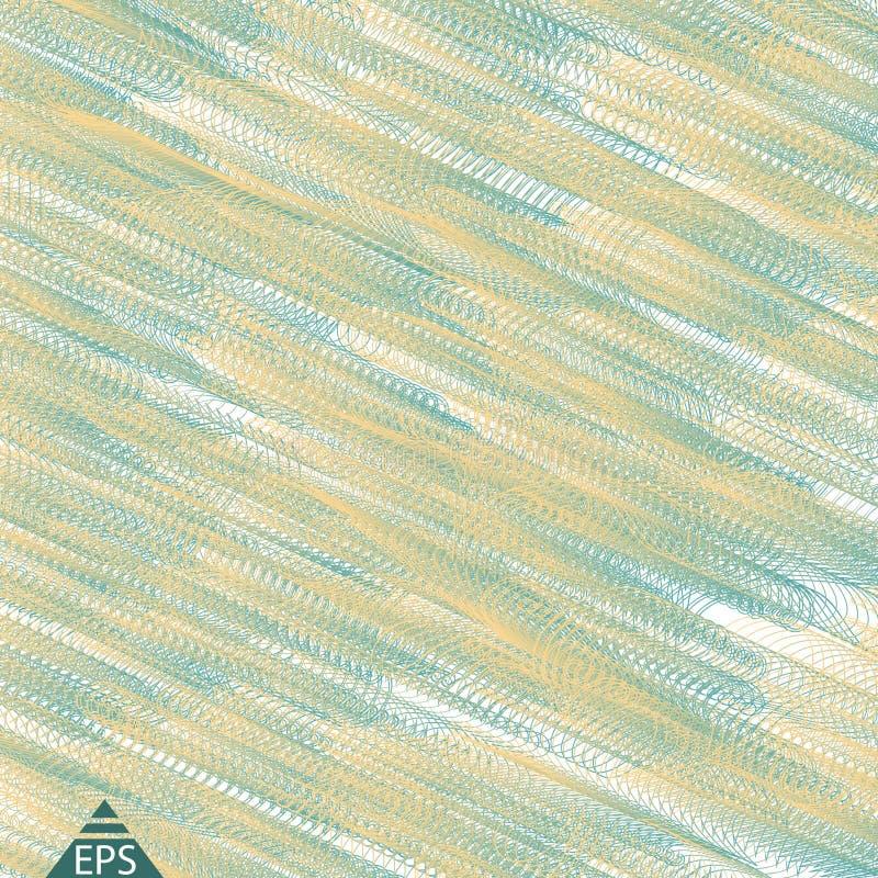 对角线路模式 平直的条纹纹理 向量例证