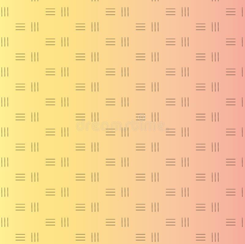 对角线路模式 重复平直的条纹纹理背景 皇族释放例证