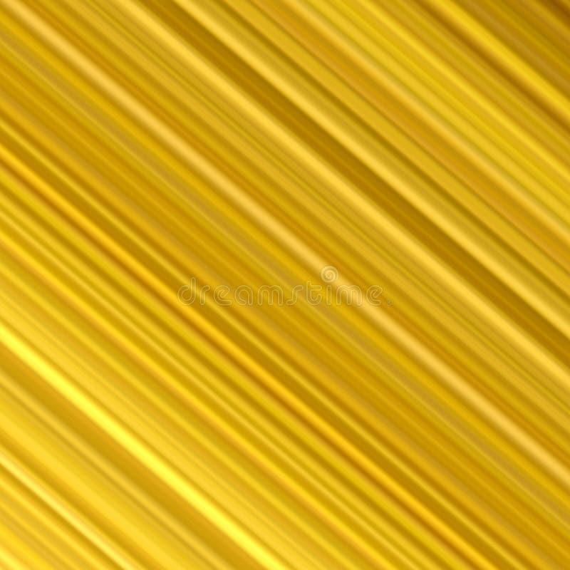 对角金黄线路 向量例证