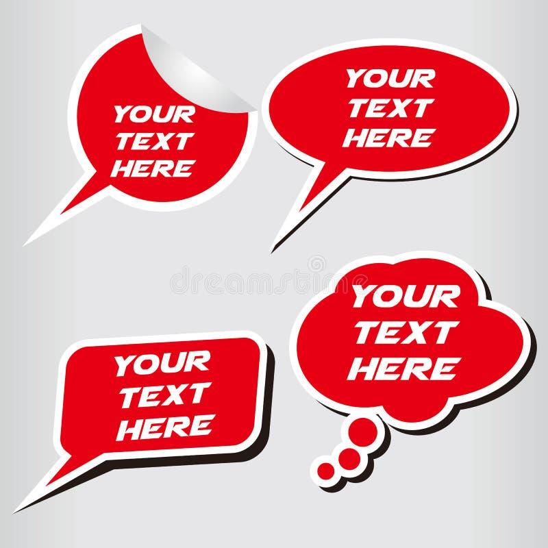 对话框 图库摄影