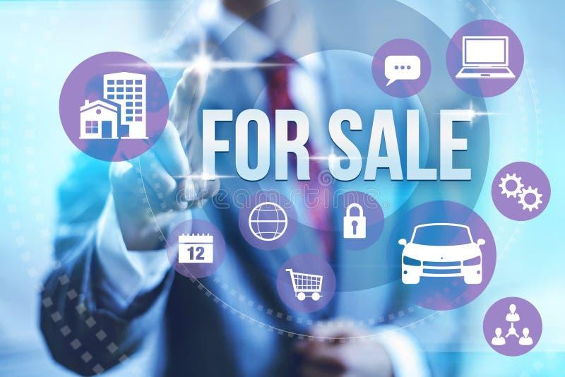 对销售概念 免版税图库摄影