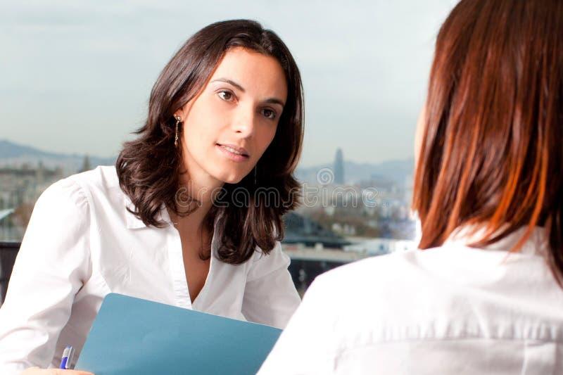 对雇员的评估 免版税库存照片