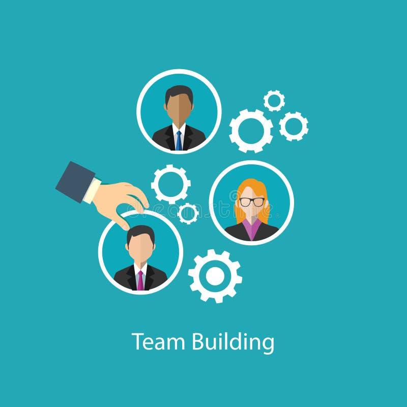 对组织工作人力资源 向量例证