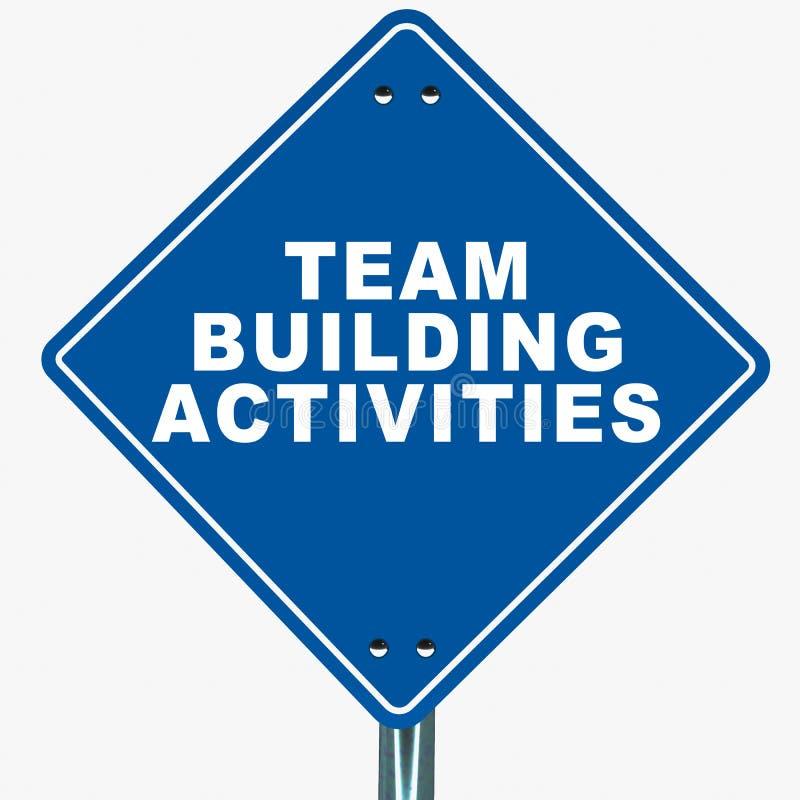 对组织工作活动 库存例证