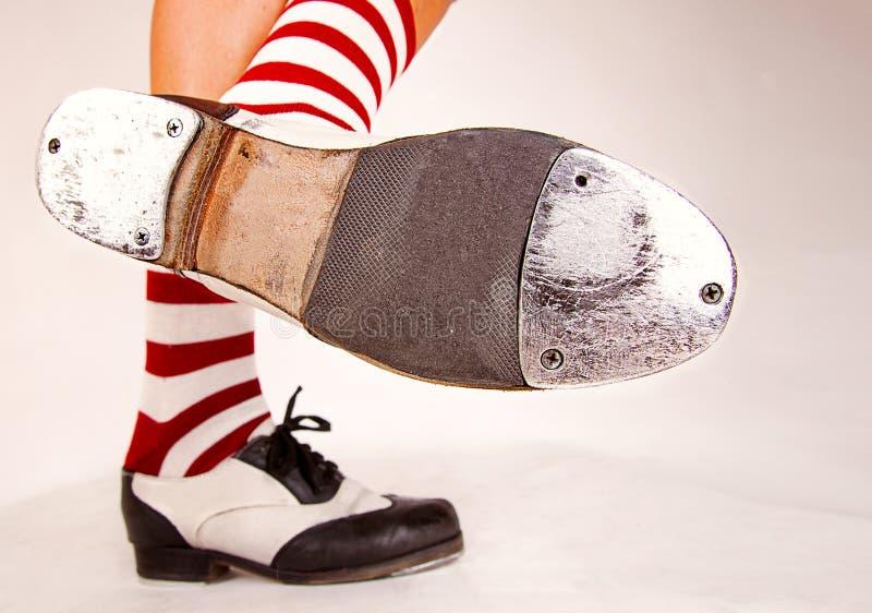 对轻拍鞋子 免版税库存照片