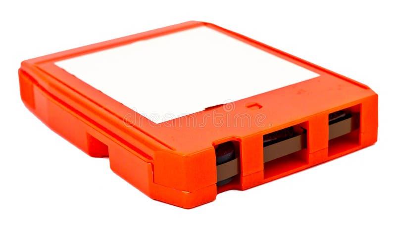 对70s的反燃-八跟踪磁带 免版税图库摄影