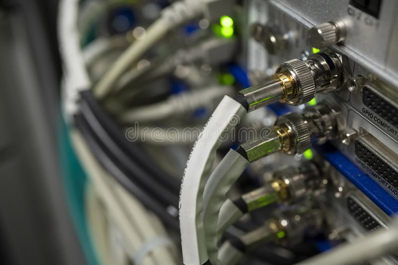 对IP门户系统的模件DVB IPTV数据转发器编码器的 免版税图库摄影