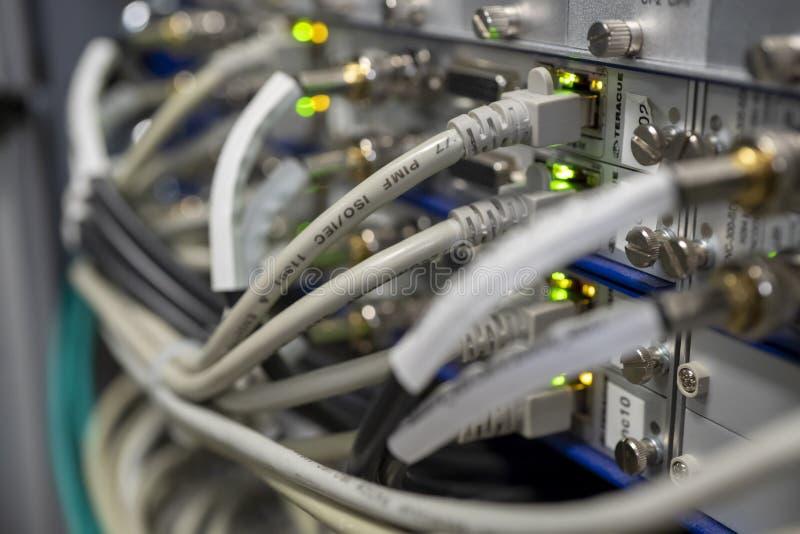对IP门户系统的模件DVB IPTV数据转发器编码器的 免版税库存图片
