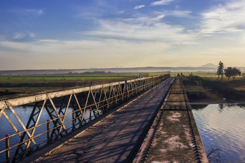对Terabithia的桥梁 免版税库存图片