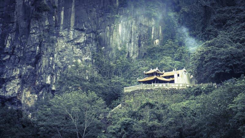 寺庙。Phong Na 免版税库存照片