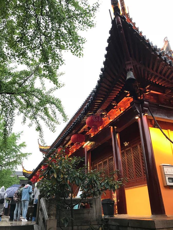 寺庙在中国 免版税库存照片