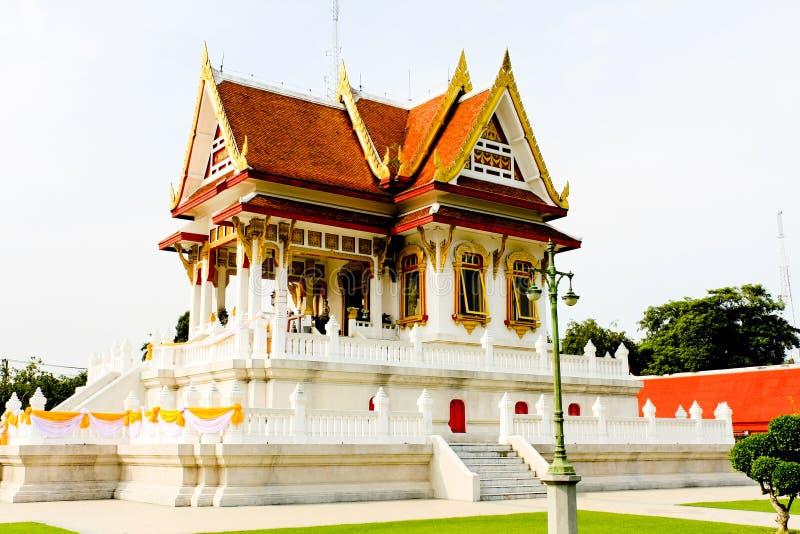 寺庙在国家博物馆曼谷泰国 免版税库存图片