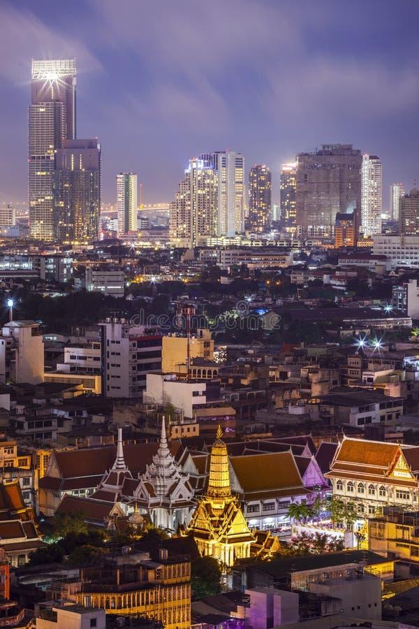 寺庙在曼谷 库存照片
