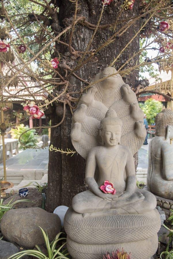 寺庙在王宫金边柬埔寨 图库摄影