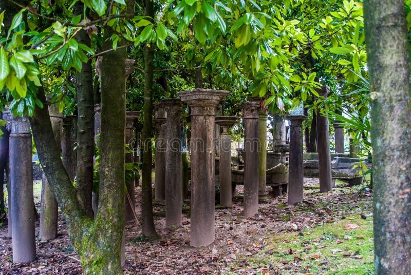 寺庙在Vittoriale,意大利 免版税图库摄影
