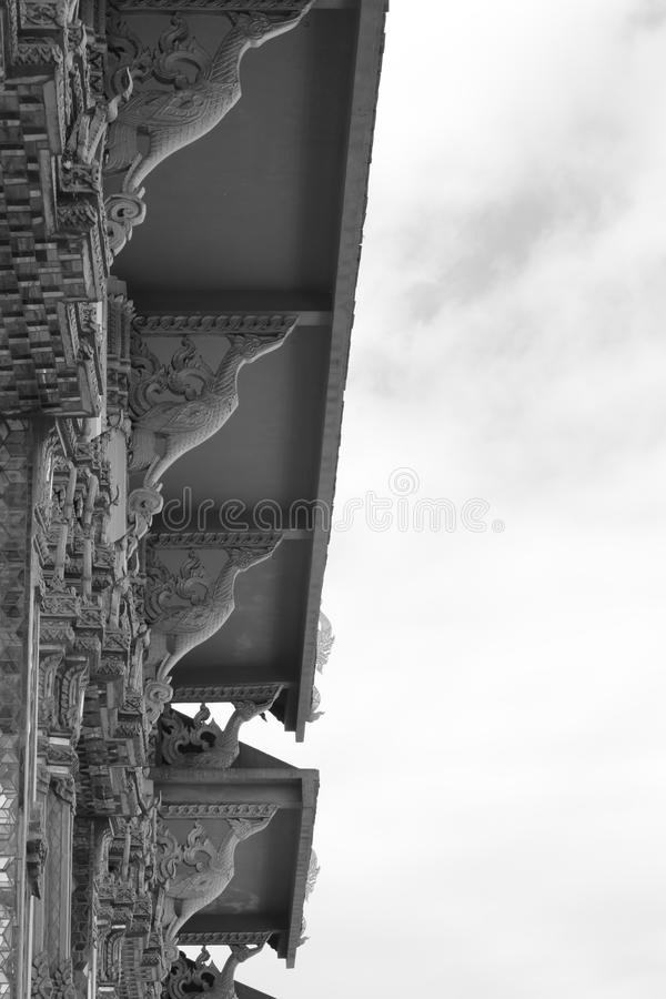 寺庙大厅 免版税库存照片
