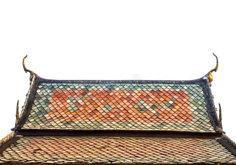 寺庙屋顶,泰国 库存图片
